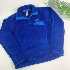 Patagonia Re-Tool Snap-T Fleece Pullover Blue
